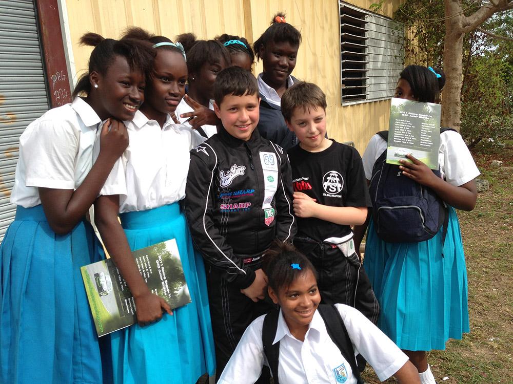 Jamie Bahamas Visit