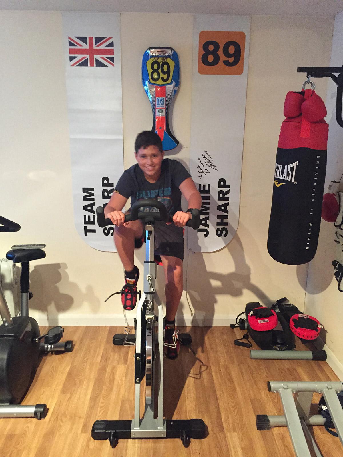 Jamie Training